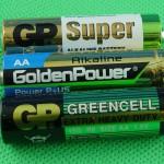 Batterien AA