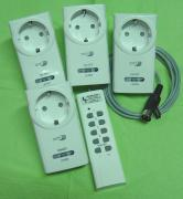 HOME easy Alarm  Schalterset + 1 Dimmer